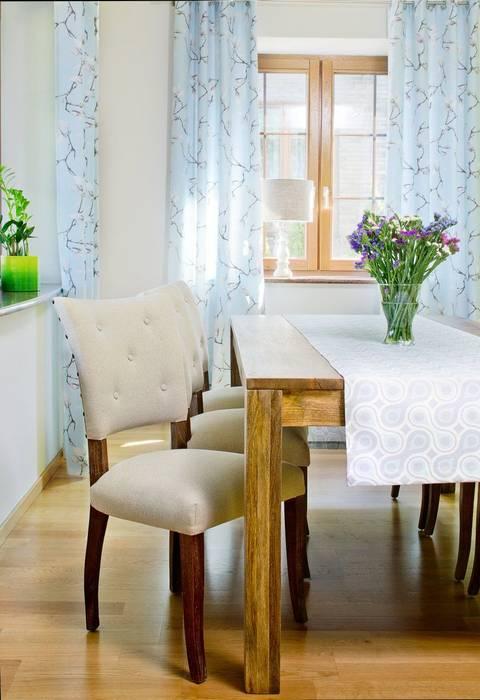 Stoffkollektion Flowers von Dekoria GmbH Klassisch Textil Bernstein/Gold