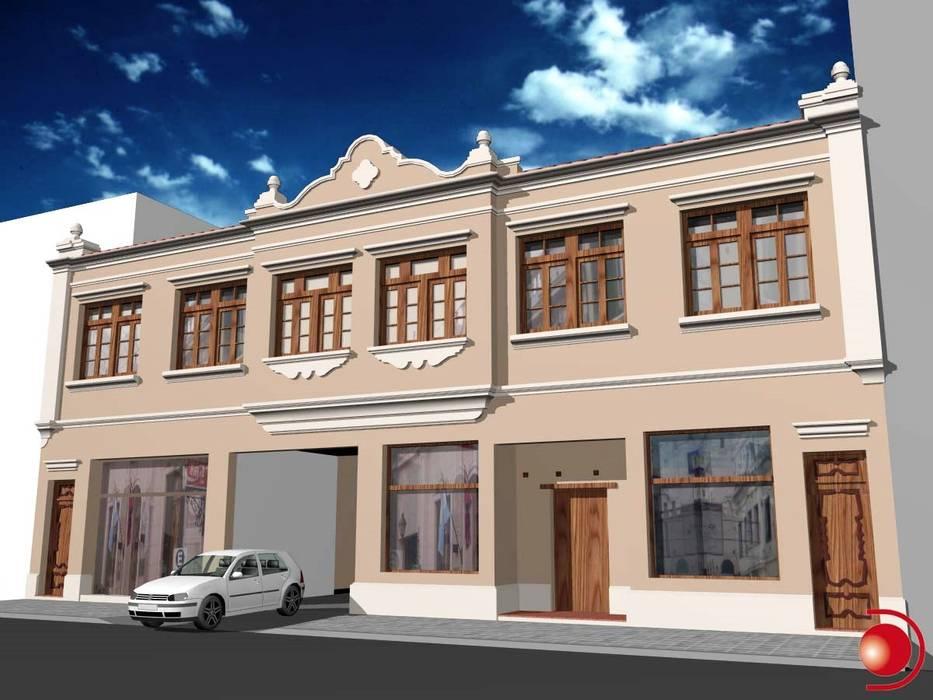 Proyecto de mejoramiento de fachada 1: Casas de estilo  por Valy