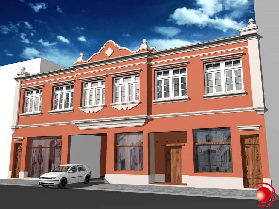 Proyecto de mejoramiento de fachada 3: Casas de estilo  por Valy,Clásico Ladrillos