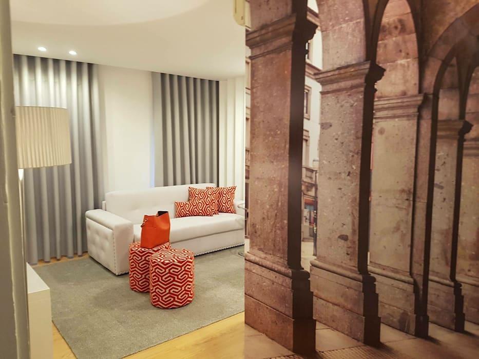 Hall de entrada Corredores, halls e escadas ecléticos por Alma Braguesa Furniture Eclético