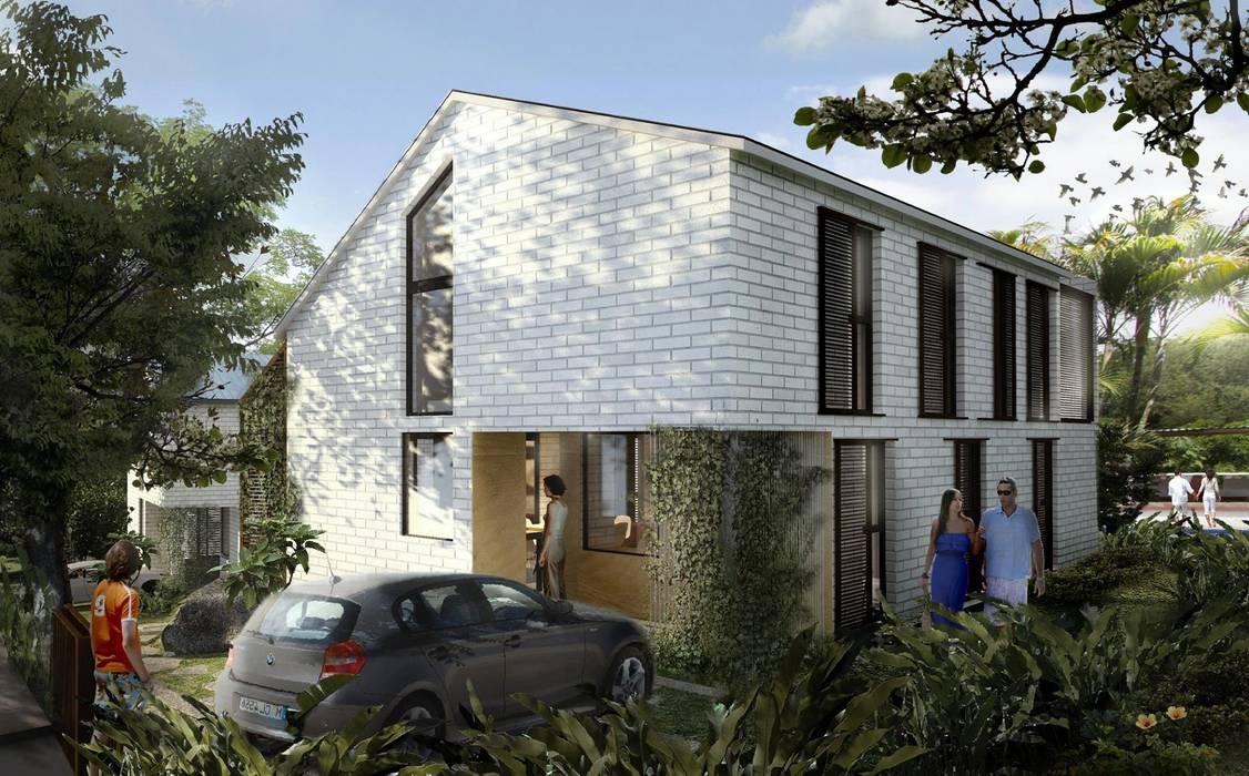 Casas tropicais por SUPERFICIES Estudio de arquitectura y construccion Tropical