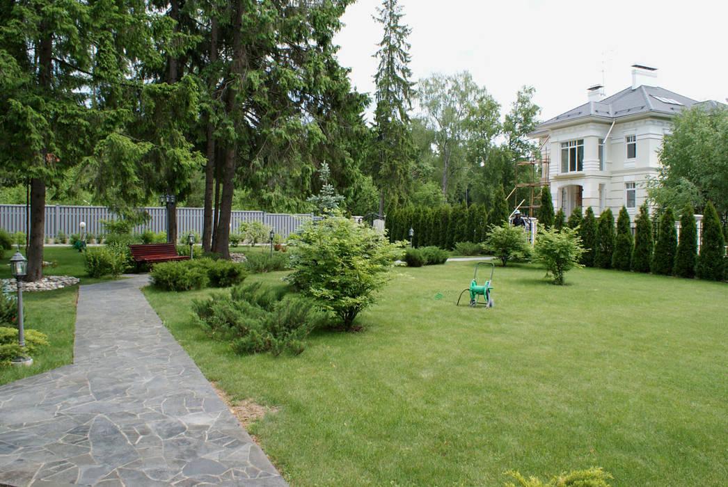 Огонек Сад в классическом стиле от ПАН Ландшафт Классический