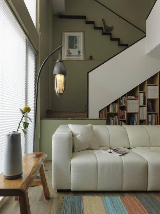 小小的森屋 賀澤室內設計 HOZO_interior_design 客廳