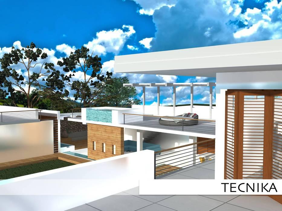 terrasa de TECNIKA Arquitectura e Ingenieria