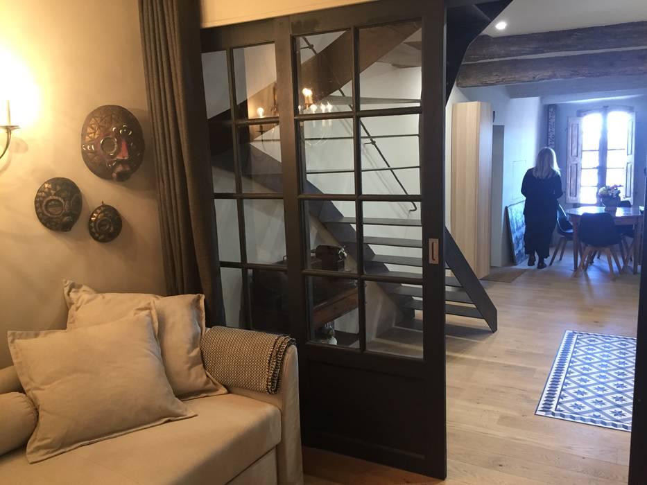 PREMIER ÉTAGE / CHAMBRE / APRES TRAVAUX: Chambre de style de style Moderne par Claire de Bodinat / Archidesign