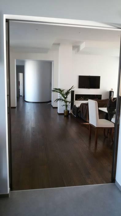 Ristrutturazione appartamento di 200 mq soggiorno for Soggiorno minimalista