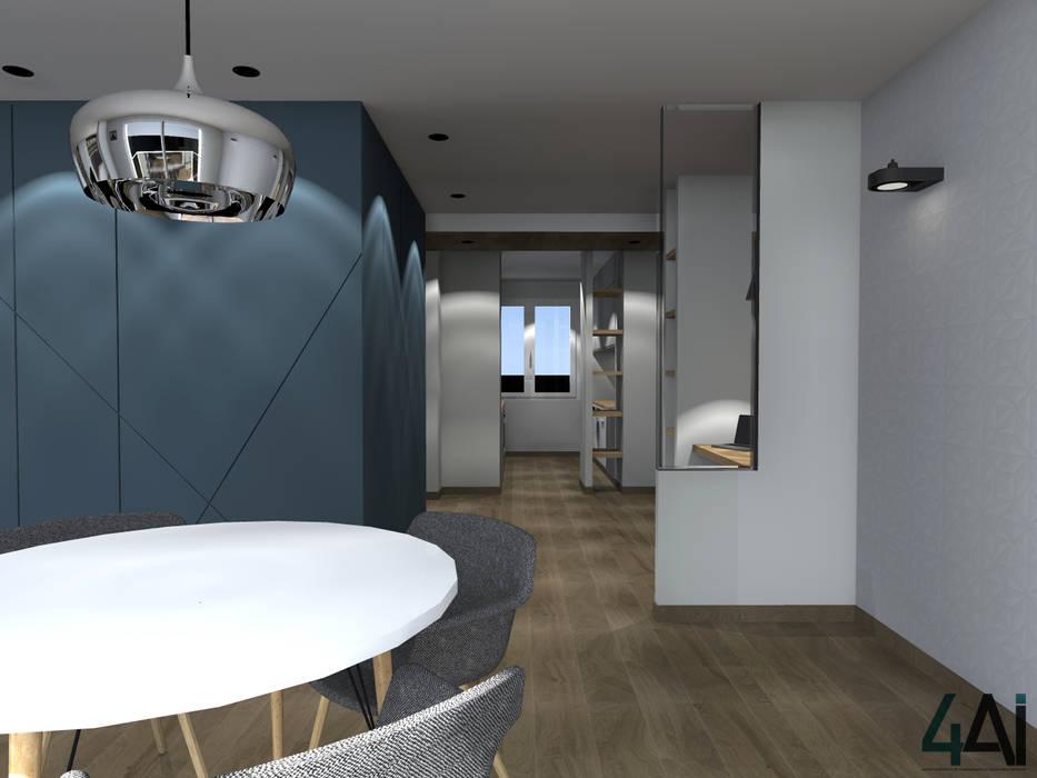 PROJET PBG - ENTREE: Couloir et hall d'entrée de style  par 4ai