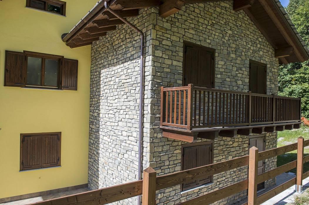 Case In Pietra Di Montagna : Legno pietra e resina nello chalet contemporaneo cose di casa