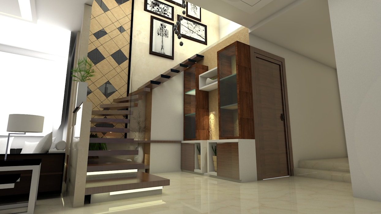 Staircase view Ar. Ananya Agarwal