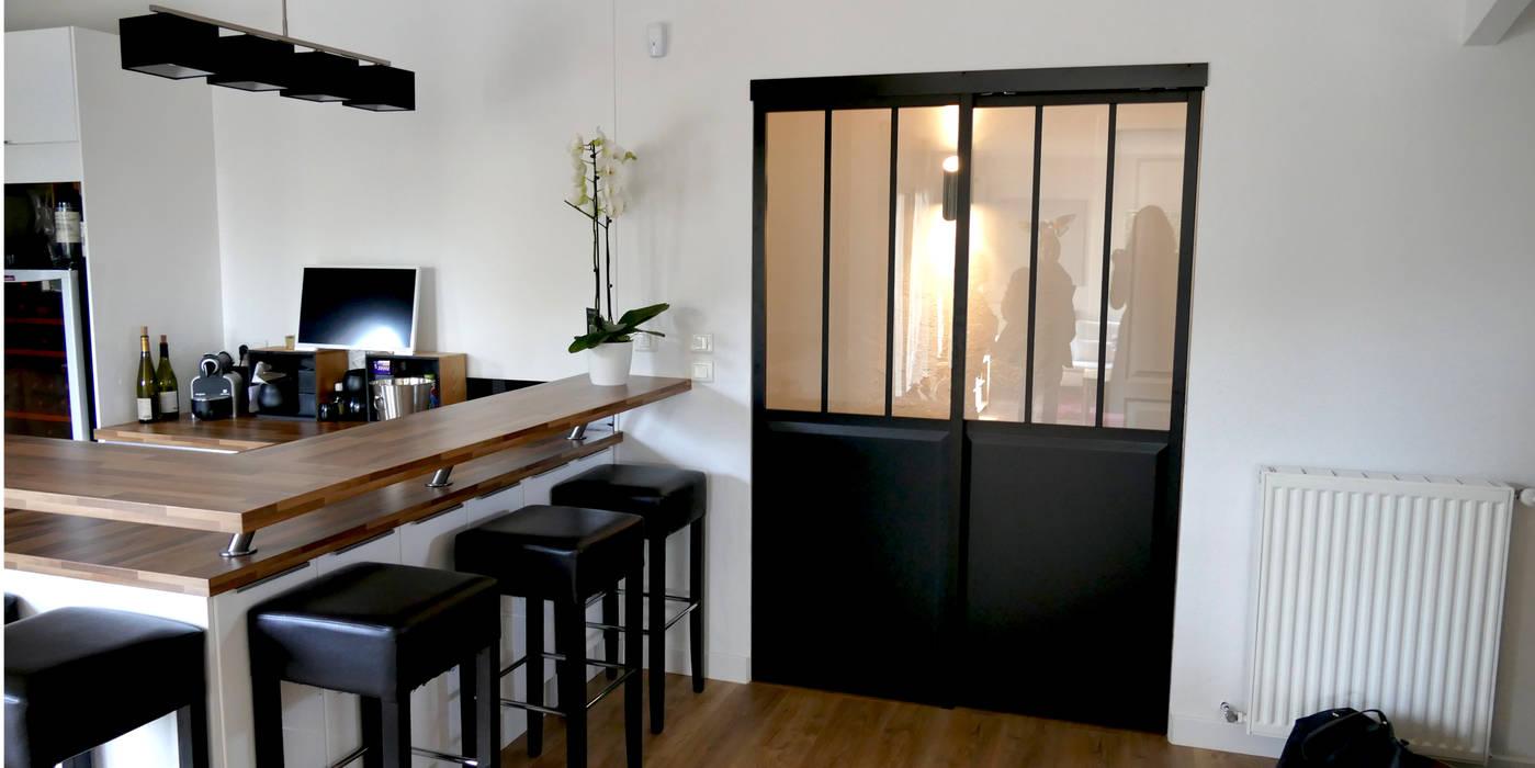 Maison m.f cuisine moderne par ophélie dohy architecte d ...