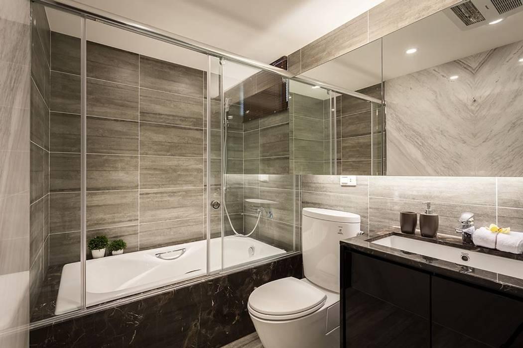 主浴室 你你空間設計 現代浴室設計點子、靈感&圖片