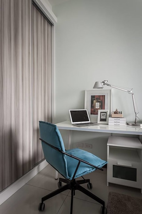 次臥房:  臥室 by 你你空間設計
