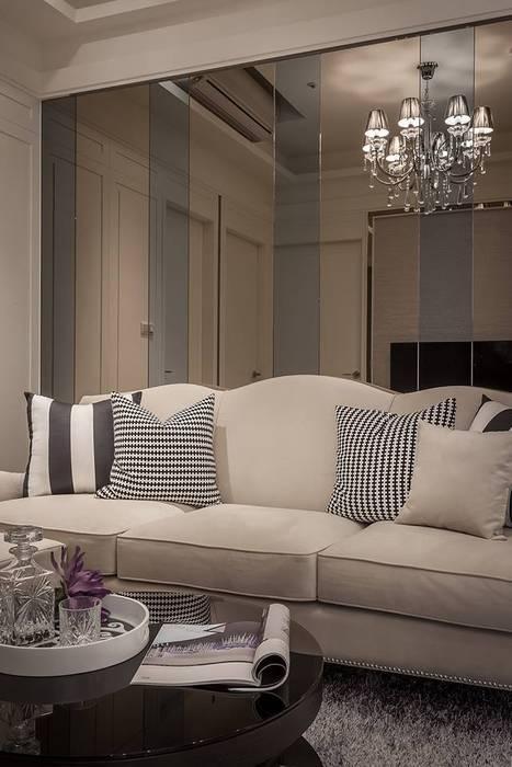 沙發背牆 根據 你你空間設計 古典風