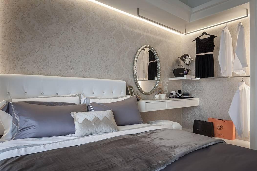 主臥床頭 根據 你你空間設計 古典風