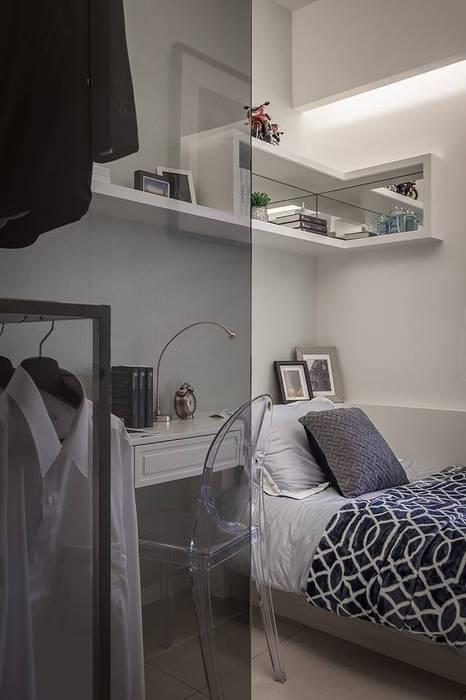 次臥:  臥室 by 你你空間設計