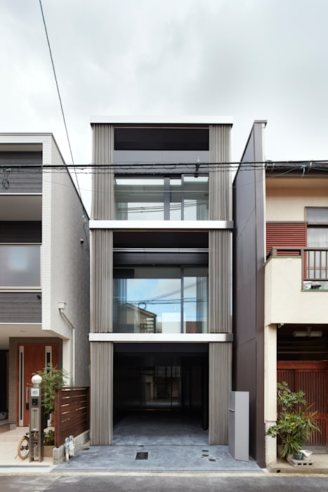現代房屋設計點子、靈感 & 圖片 根據 藤原・室 建築設計事務所 現代風