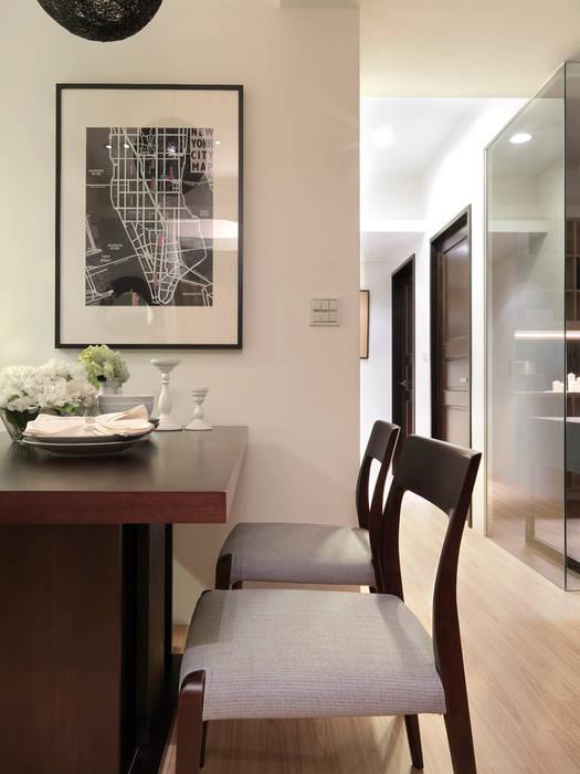 大集國際室內裝修設計工程有限公司 Modern dining room
