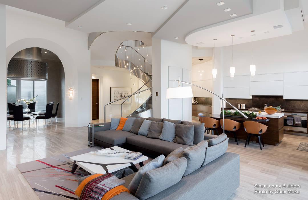 Sims luxury builders – moondance – interior 4: wohnzimmer von chibi ...