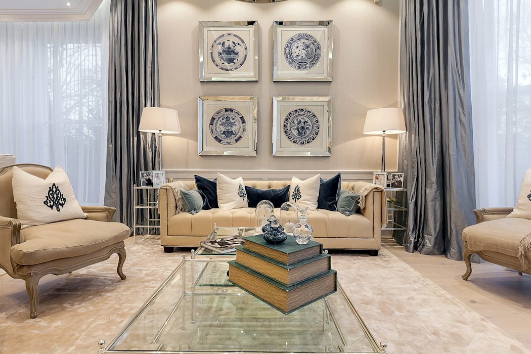 House renovation in Holland park:  Living room by APT Renovation Ltd, Modern Marble