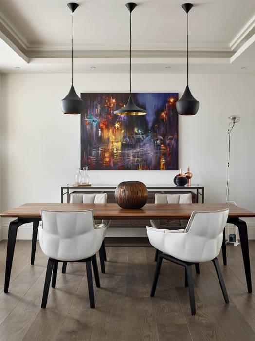 Dining room โดย Morph Interior Ltd โมเดิร์น