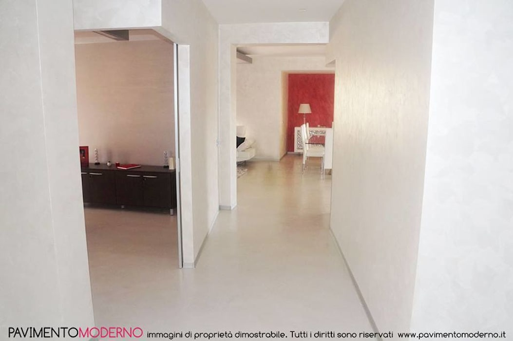Pavimento In Resina Bianco.Pavimento In Resina Infinity Indoor Bianco In Stile Di
