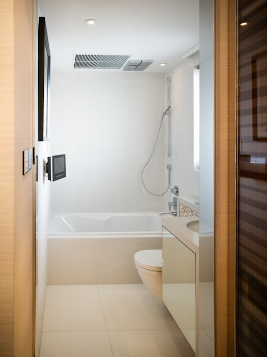 Mount East Asian style bathroom by wayne corp Asian