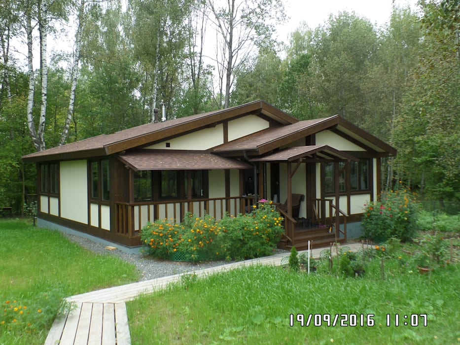 Rumah oleh homify, Klasik Kayu Wood effect