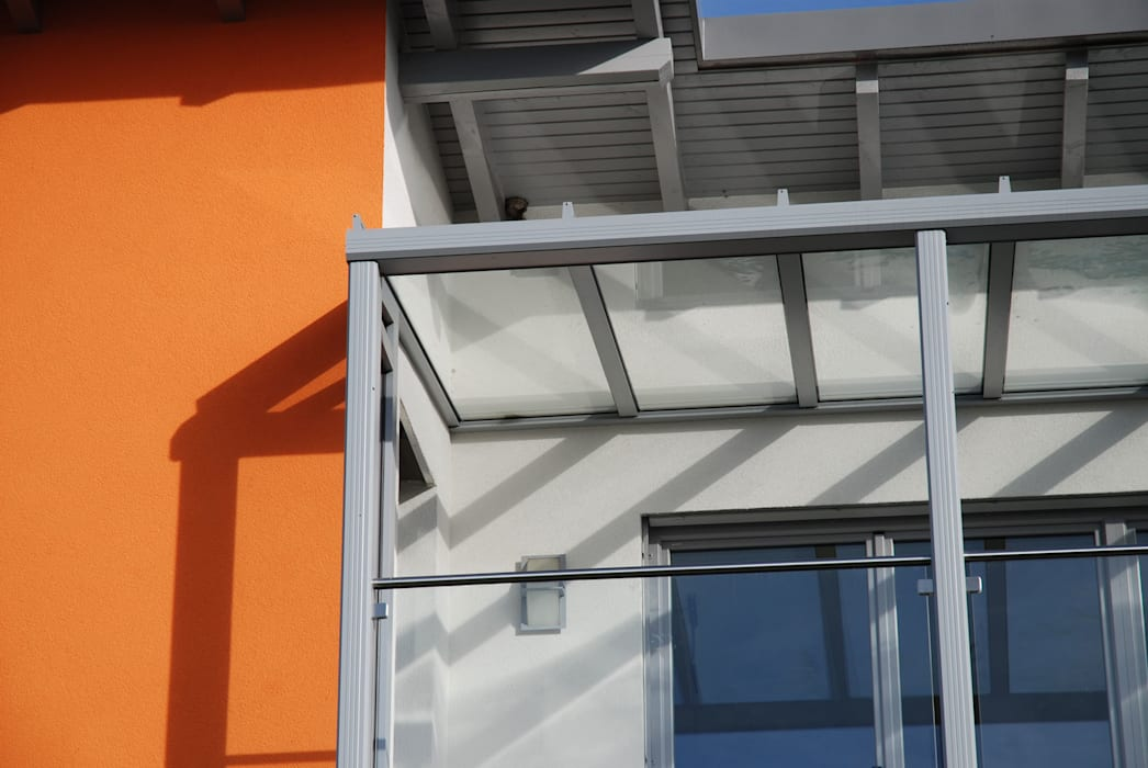 Detail regenrinne balkonüberdachung: wintergarten von ...