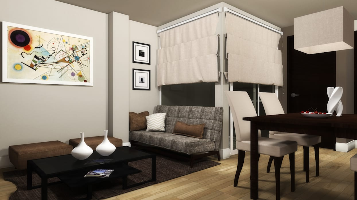 homify Living roomAccessories & decoration Beige