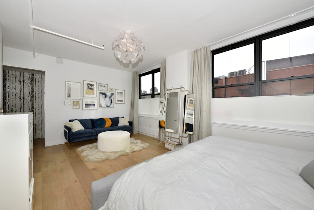 Chambre de style  par KBR Design and Build,