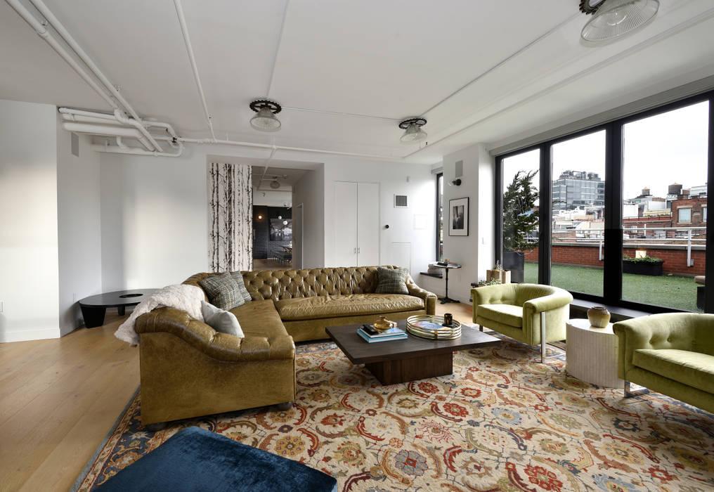 Salas de estar modernas por KBR Design and Build Moderno
