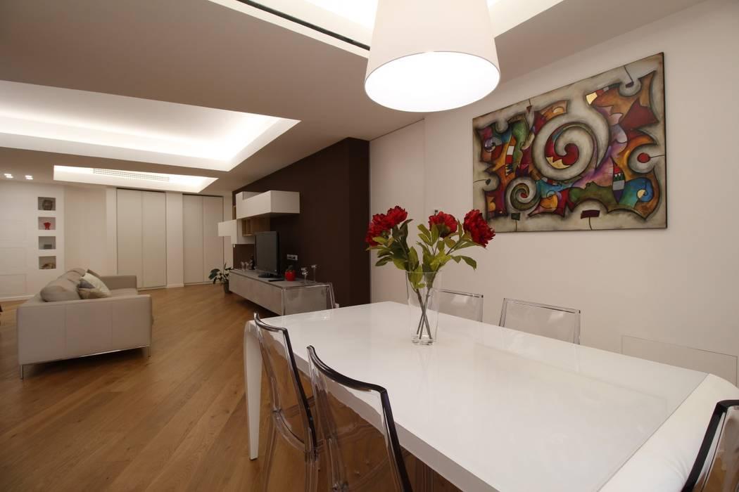 Giuseppe Rappa & Angelo M. Castiglione ห้องทานข้าว White