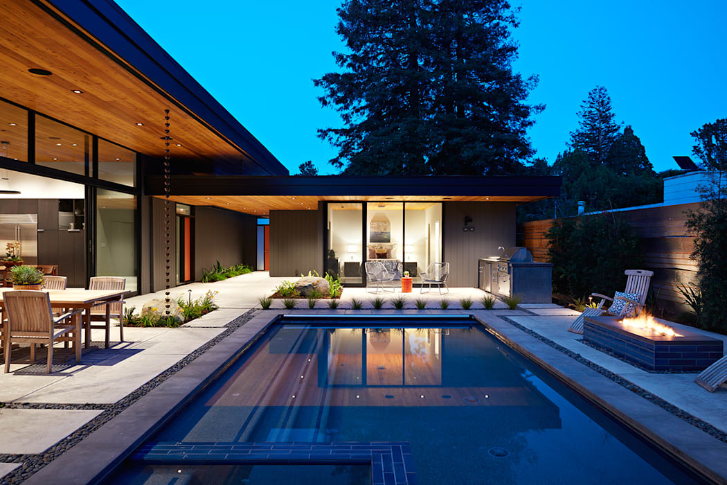 Glass Wall House:  Houses by Klopf Architecture, Modern