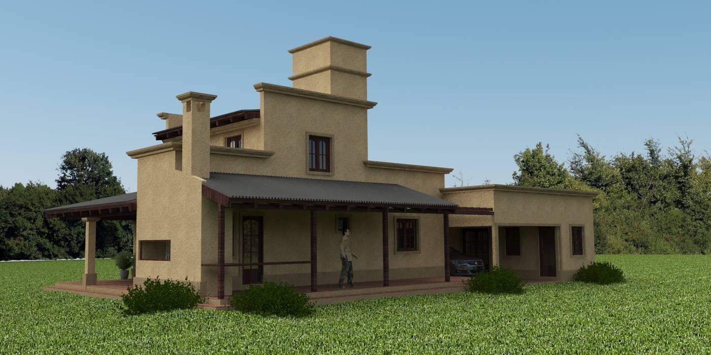 Proyecto de remodelación y ampliación de Vivienda unifamiliar: Casas de estilo  por Valy