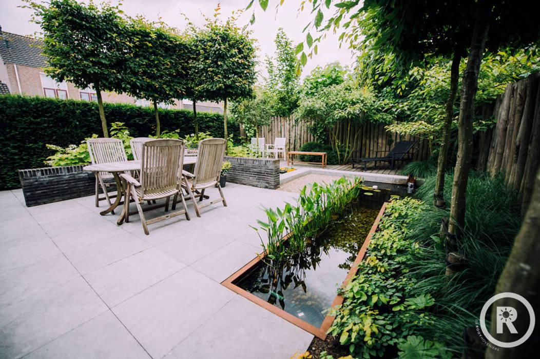 Onderhoudsvriendelijke robuuste tuin De Rooy Hoveniers Moderne tuinen