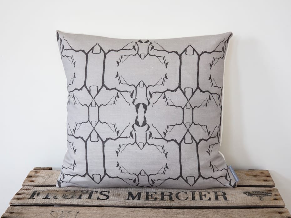 Swallow Cushion: country Living room by Lomas & Lomas