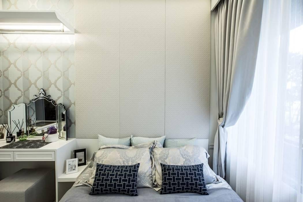 床頭收納 Classic style bedroom by 你你空間設計 Classic