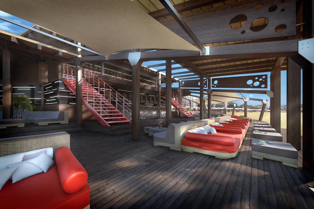 Sunny Beach - Bar Restorant by eNArch.info Modern