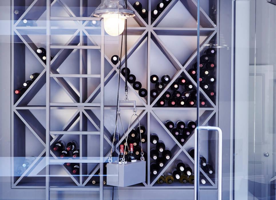 Wine Rack:  Wine cellar by Adventure In Architecture