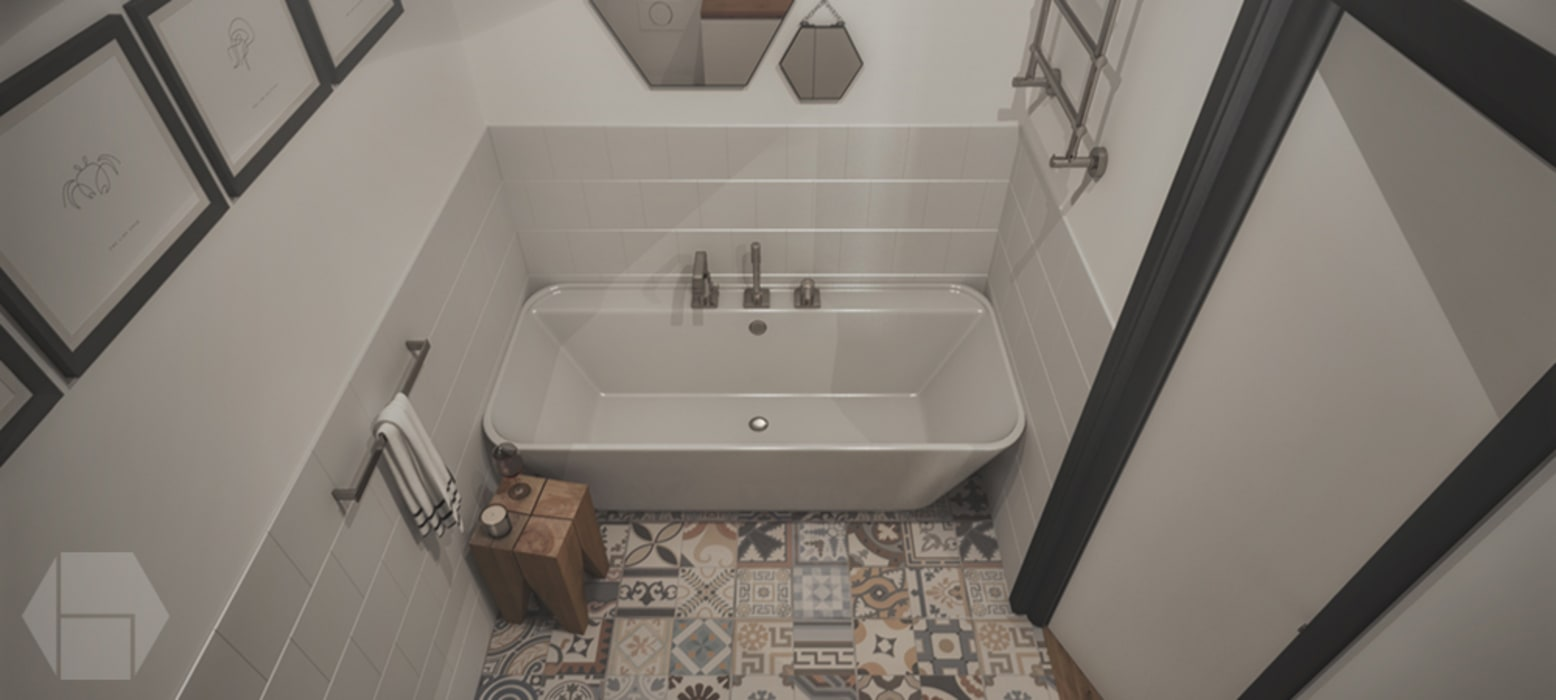 Modern style bathrooms by hexaform Modern