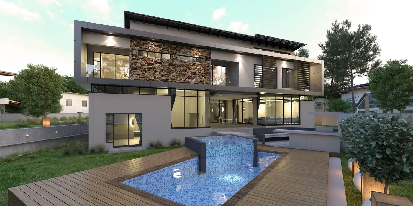 House Eye of Africa Golf & Residential Estate II Modern houses by Metako Projex Modern