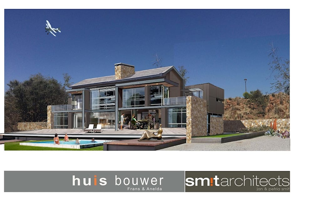 House Tredenham, South Africa:  Houses by Sm!t Architects