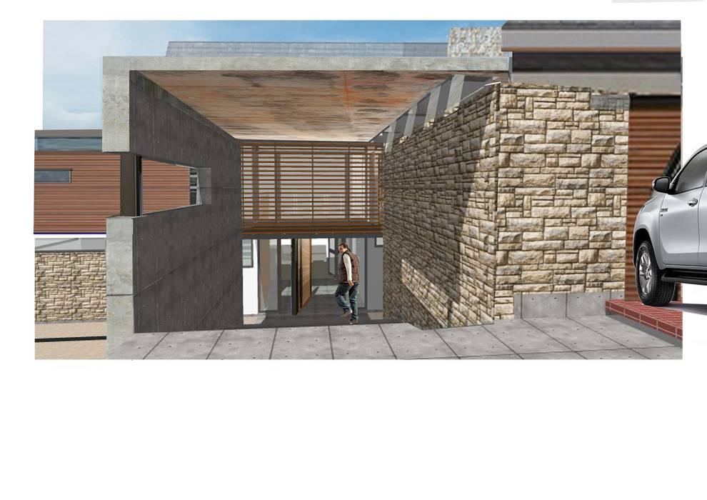 House Tredenham: modern Houses by Sm!t Architects