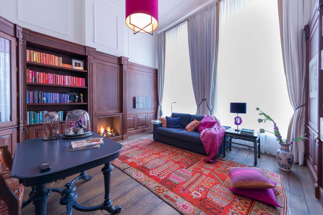 Oficinas de estilo ecléctico de Atelier Denessen Architecture Ecléctico