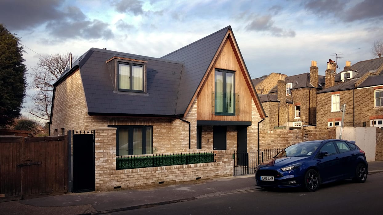 New House in Rockland Road, Putney, SW15 2LN: modern Houses by 4D Studio Architects and Interior Designers