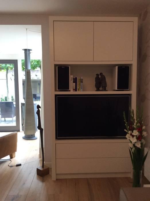 Op Maat Gemaakye Tv Kast Woonkamer Door Studio Inside Out