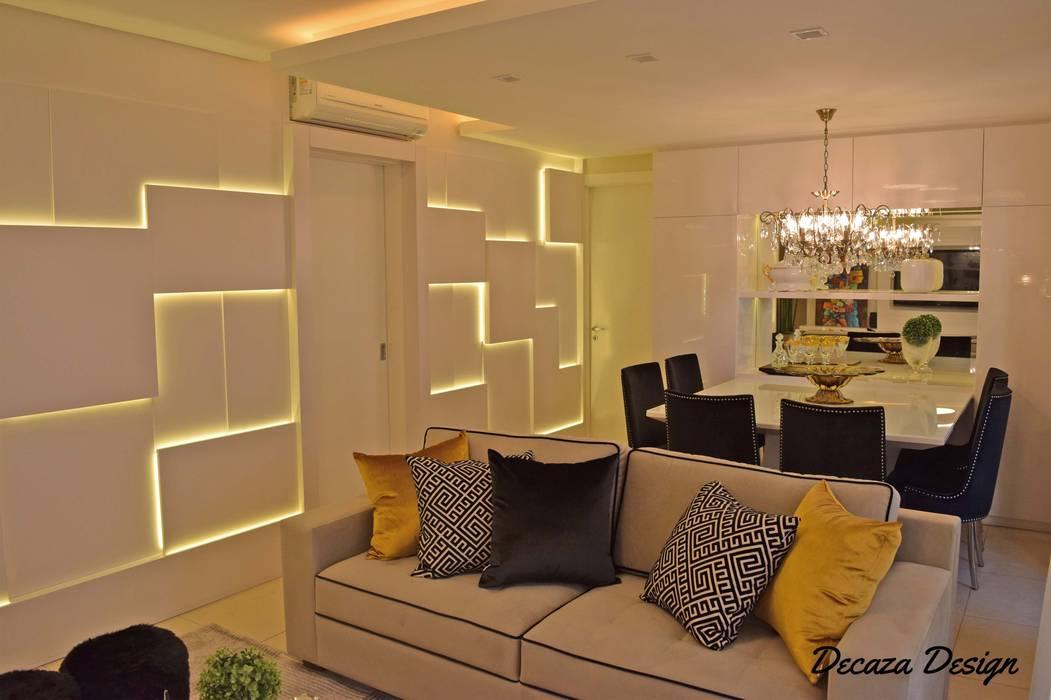 Sala Estar e Jantar em Destaque Salas de estilo moderno de DecaZa Design Moderno