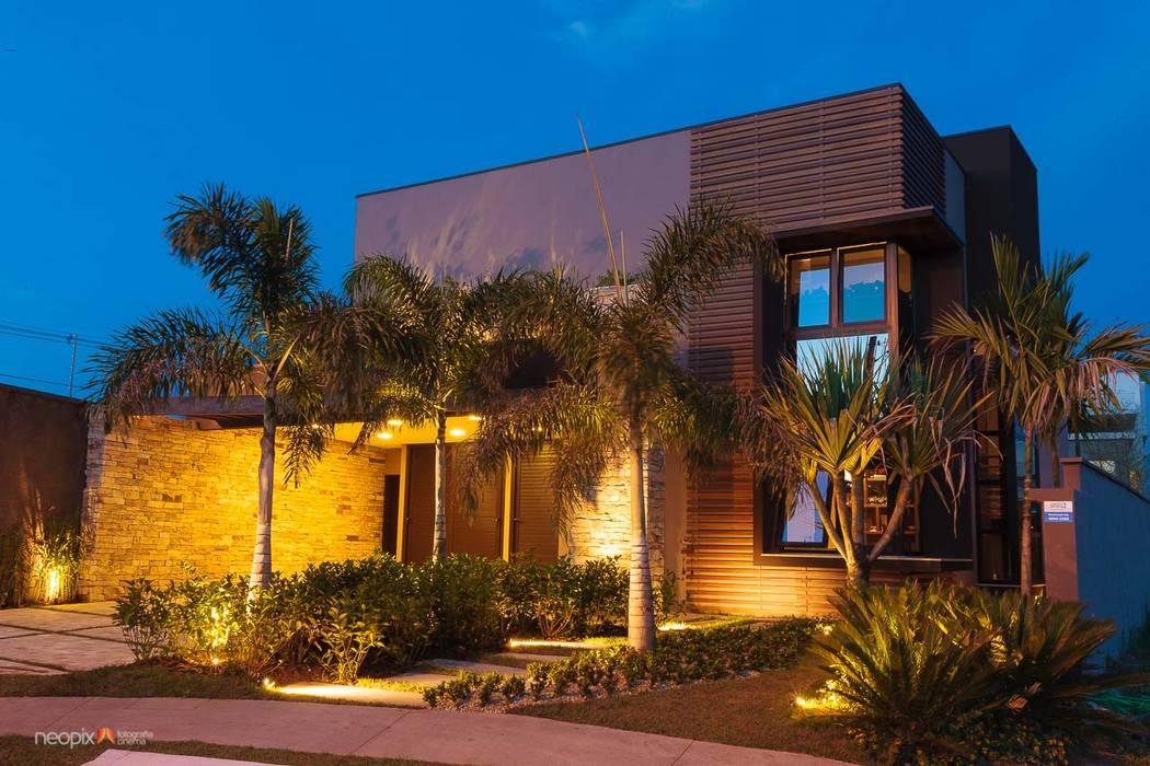 Residência - Diário de Obra Jardins modernos por Rafaela Novaes Paisagismo Moderno