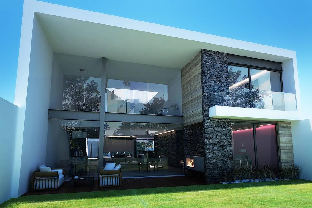 9. CASA F6 Moderne Häuser von TARE arquitectos Modern