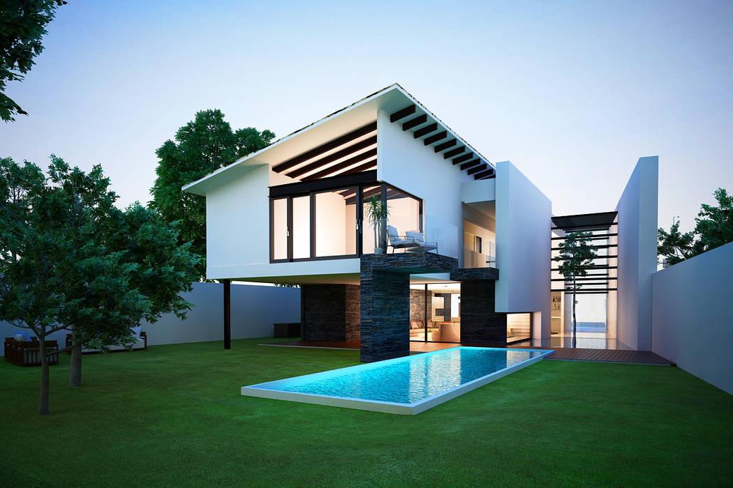 14. CASA AM Moderne Häuser von TARE arquitectos Modern